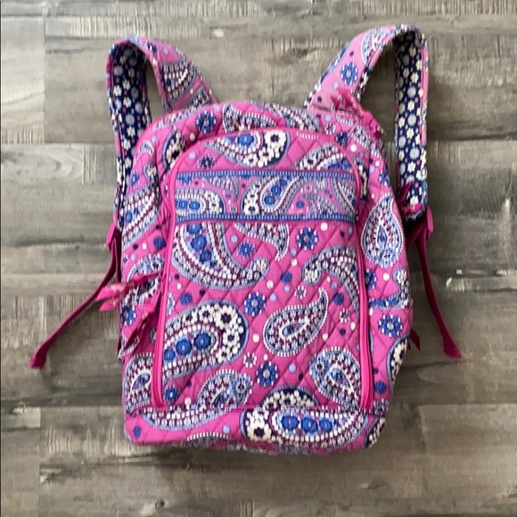 Vera Bradley Boysenberry Laptop Backpack